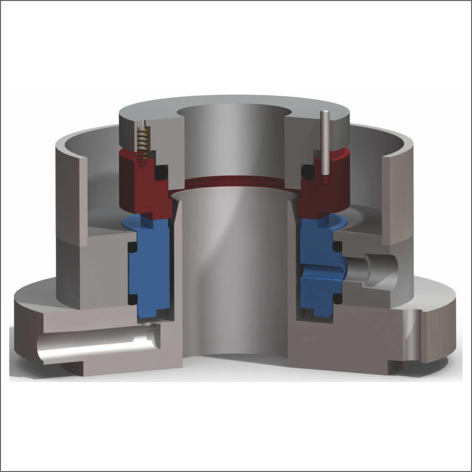 DJ16搅拌器单端面机械密封